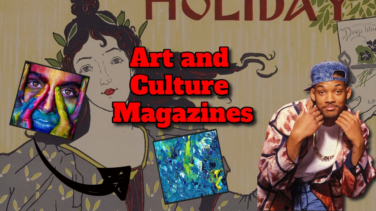 """Image bears the text; """"art and culture magazines"""". Featured Image."""