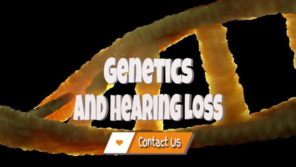 Hereditary Hearing Loss Contact Us